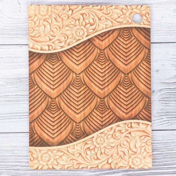 Доска разделочная «Дерево», 15 × 20 см