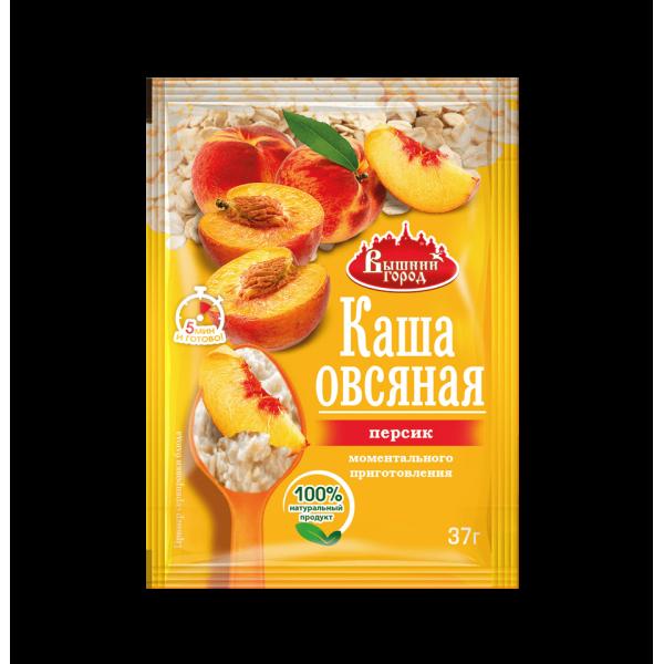 """Каша овсяная """"Вышний город"""" с персиком, пак. 37г"""