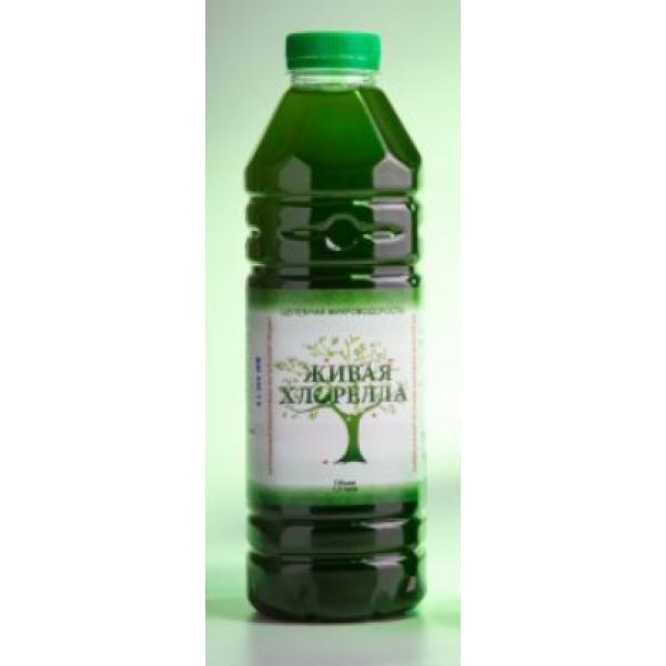 """Напиток органический """"Живая Хлорелла""""  1 л."""