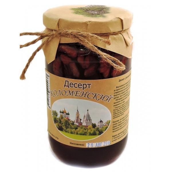 """Десерт """"Коломенский"""" грецкие орехи в сосновом сиропе  370 гр"""