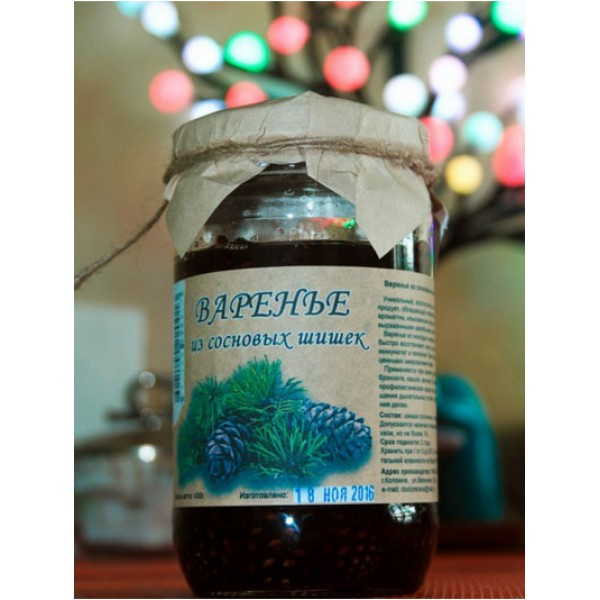 Варенье из сосновых шишек 430 гр ( г. Коломна)