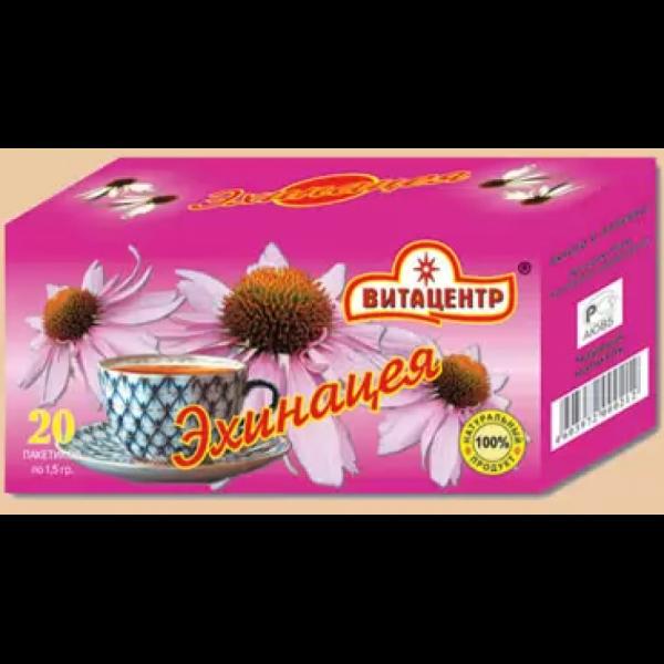 Травяной чай пакетированный ЭХИНАЦЕЯ 30 гр /20 пакетиков