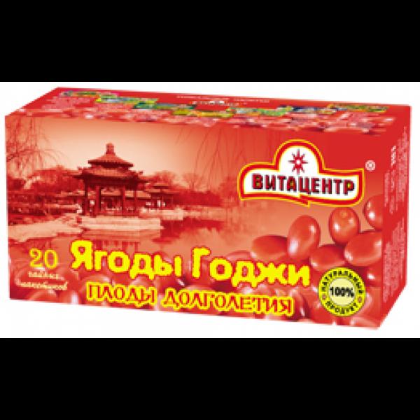 Травяной чай пакетированный ЯГОДЫ ГОДЖИ