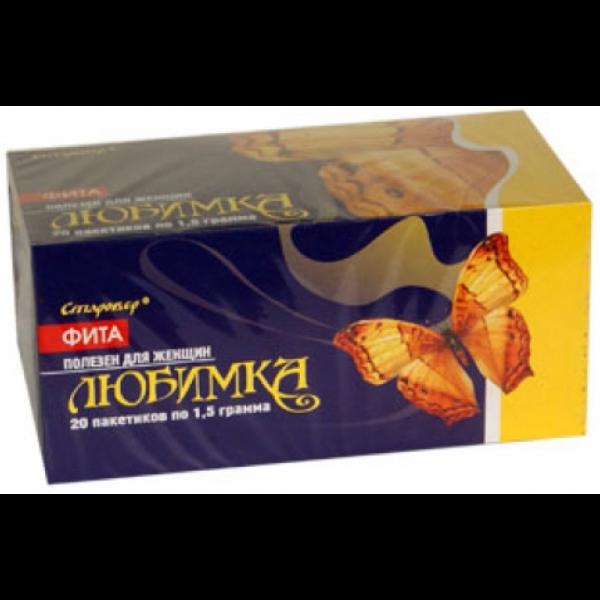 Фиточай Любимка при миоме и мастопатии 20 ф/пакетов