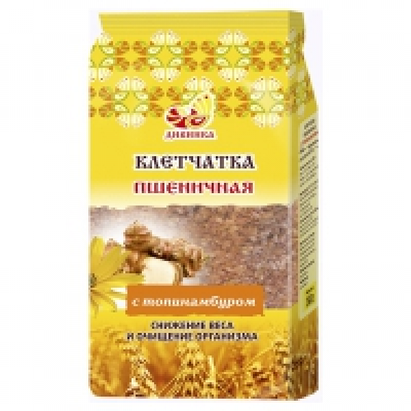 Клетчатка пшеничная Топинамбур пакет 300 гр