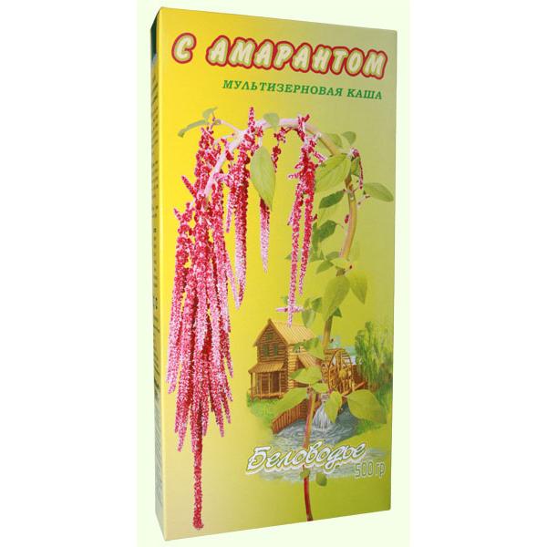Крупка Мультизерновая с амарантом (амарант. кукуруза, рожь, пш
