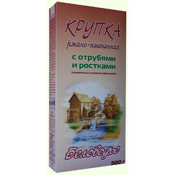 Крупка Ржано-пшеничная с отрубями и ростками