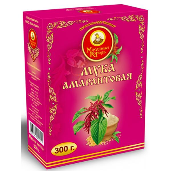 Мука амарантовая Масляный король 300 гр