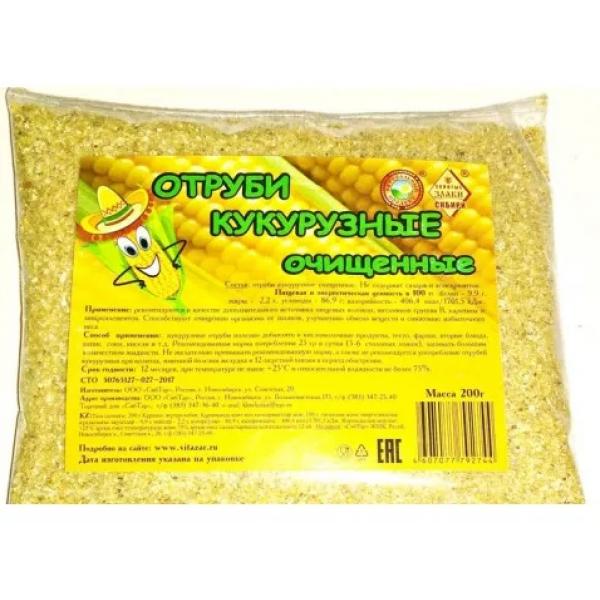 Отруби кукурузные 200 гр. Сибирские