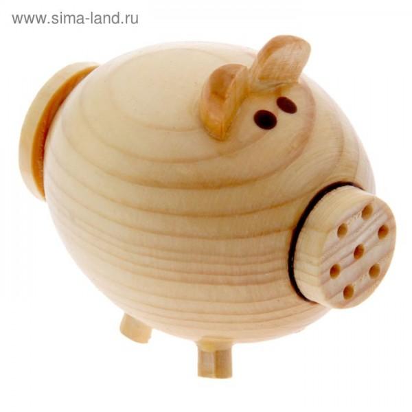 Баночка-солонка Свинка