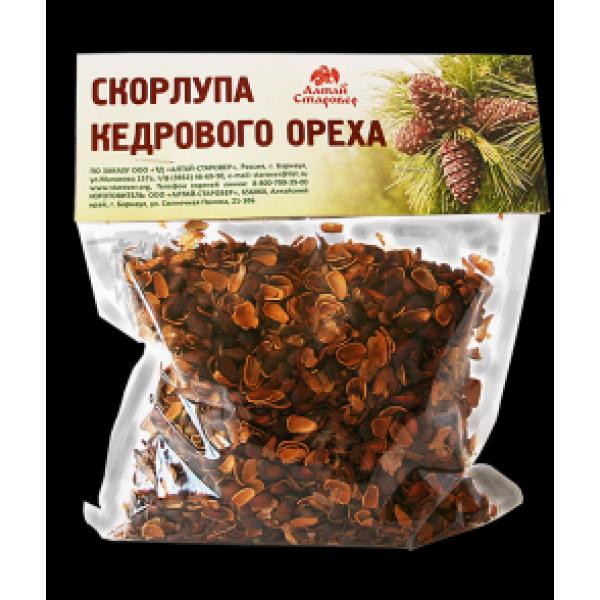 Кедрового ореха скорлупа 150 гр