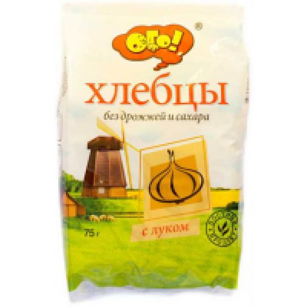 ОГО Хлебцы с луком 75 гр.