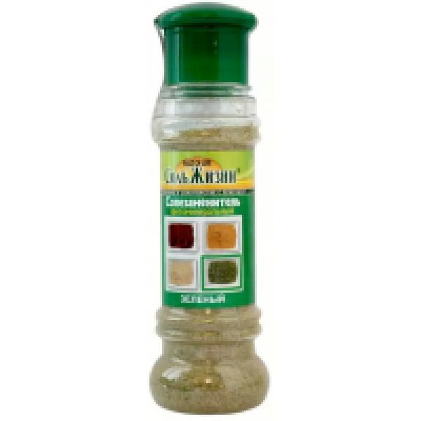Солезаменитель фитоминеральный Соль жизни Зелёная 100 гр.