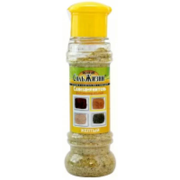 Солезаменитель фитоминеральный Соль жизни Жёлтая 100 р.