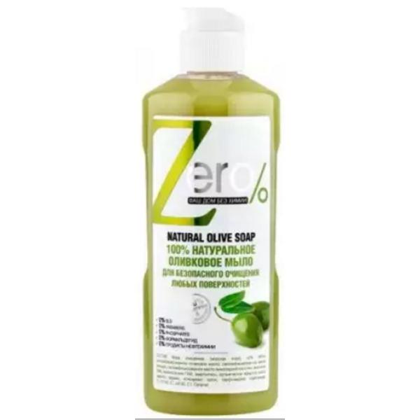 zERO  жидкое мыло д/очищения оливкое мыло 500 мл.