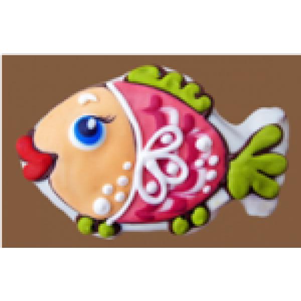 Рыбка (130 гр)    13*13 см