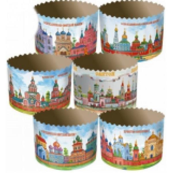 Форма для выпечки средняя Храмы