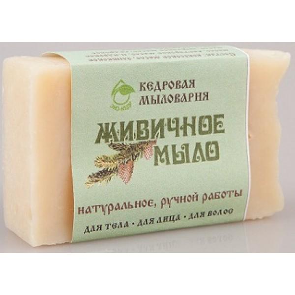 ЭКОКЕДР Мыло с кедровой живицей Живичное 115 гр