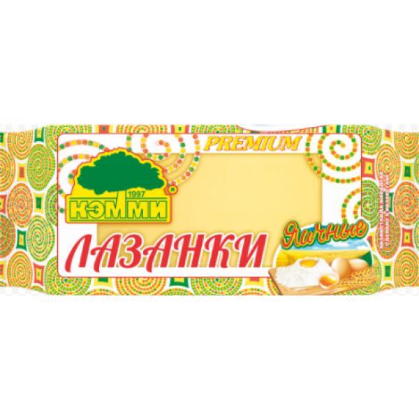 Лапша Кемми Лазанка яичная (для лазаньи)
