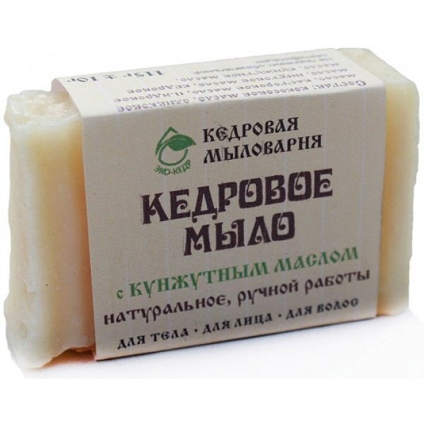 ЭКОКЕДР Мыло с маслом кунжута 115 гр