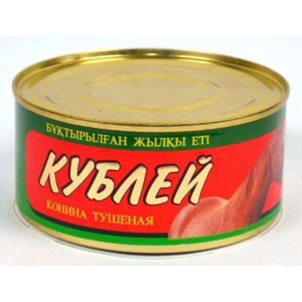 Консервы БИЖАН Конина тушеная  325гр