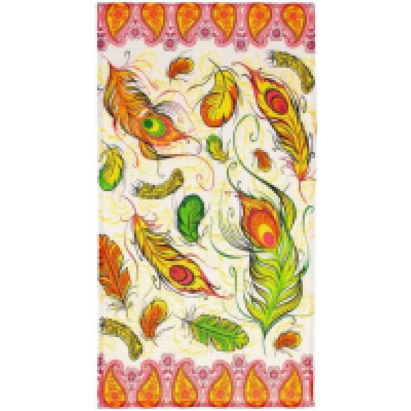 Collorista Вафельное полотенце Перья ЖарптицыПе 34*64 с