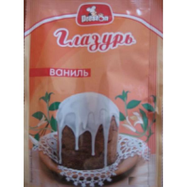 Глазурь с ванилином 50 гр.