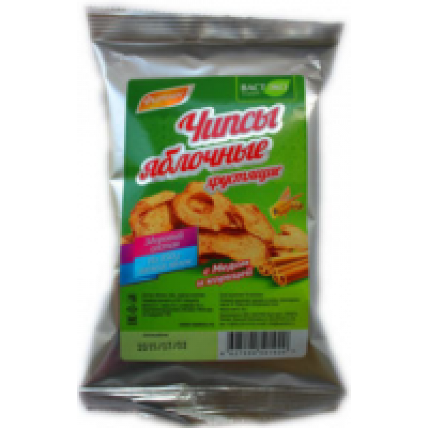 Чипсы яблочные с мёдом и корицей 25 гр