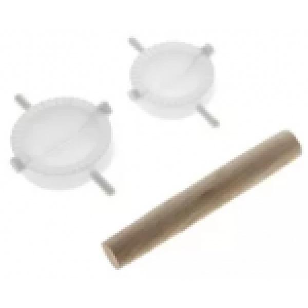 Набор для лепки пельменей 3 предмета (стороны 5/7 см)