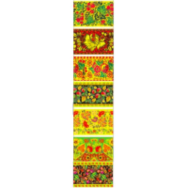 Пасхальная дек.т/у плёнка Ситцевый бал 7 декоративных термоэ