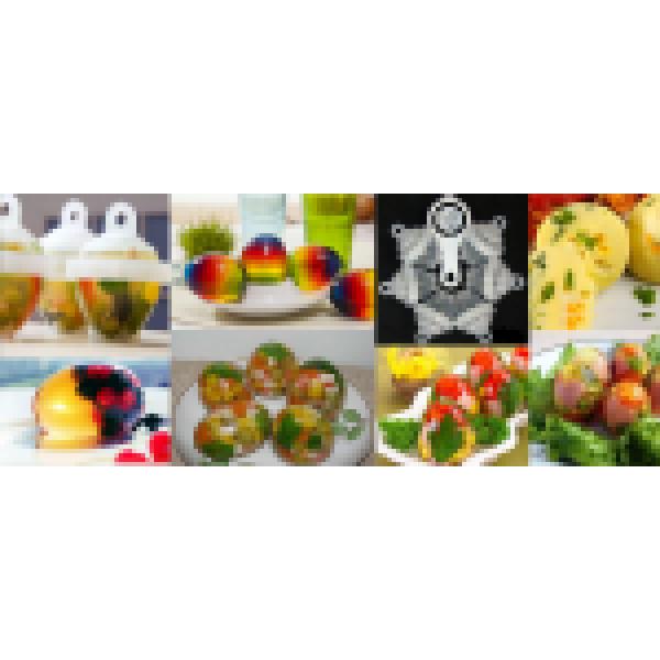 Набор 6-ти контейнеров для изготовления заливного в виде яиц (мо