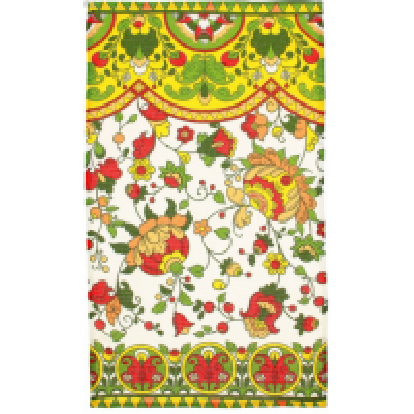 Collorista Вафельное полотенце Новгородский мотив 34*64 см