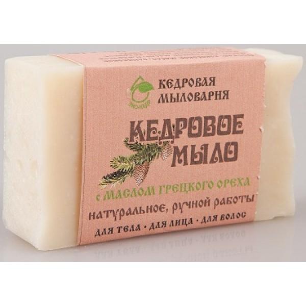 ЭКОКЕДР Мыло с маслом грецкого ореха 115 гр