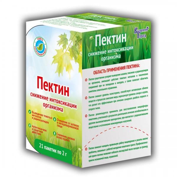 """Пектин """"Вышний город"""", 42 гр (21 шт по 2 гр.)."""