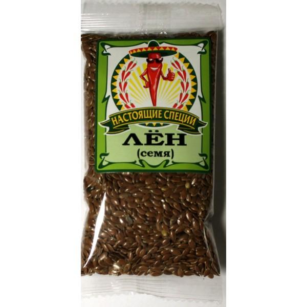 Лён семя коричневый 50 гр.